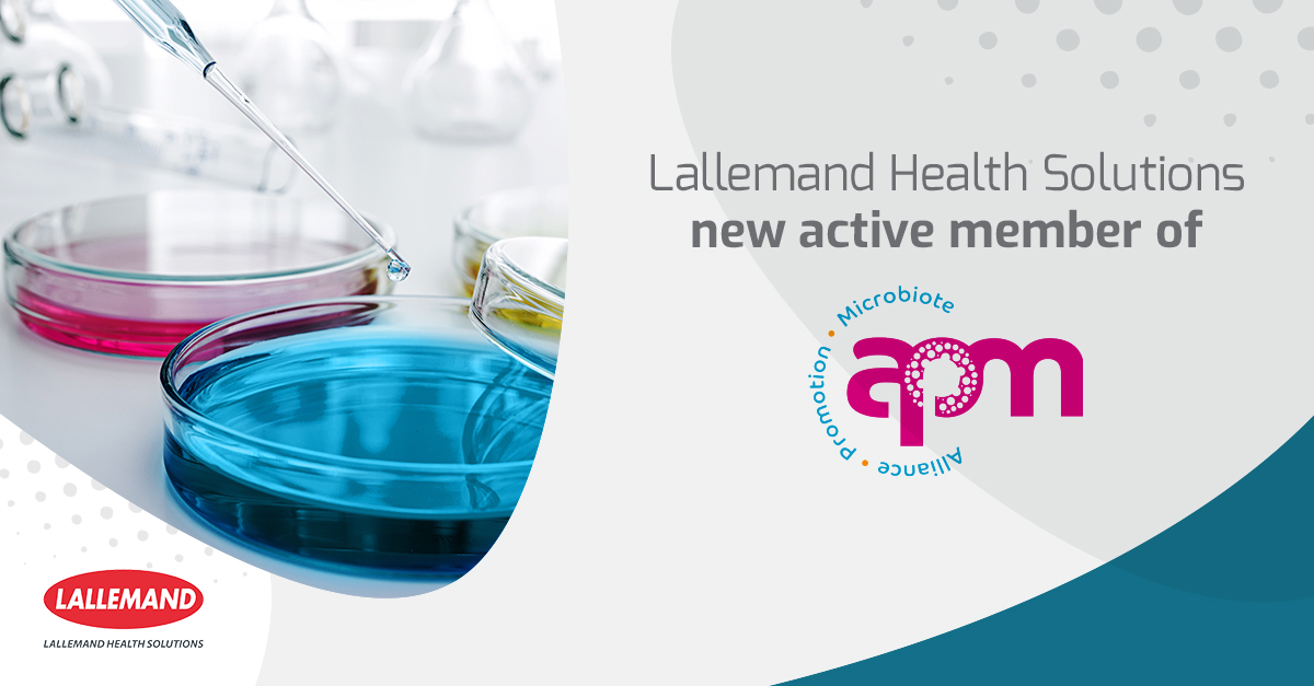 Lallemand Health Solutions new active member of the APM
